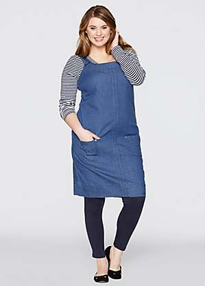 beautiful design attractivedesigns how to find Denim Button Pinafore