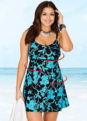 Floral Print Swim Dress