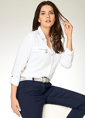 7483d0950516 Ashley Brooke Shirt Style Blouse