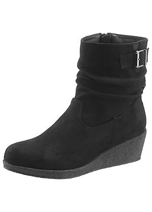 4396bc30aa49 City Walk Wedge Ankle Boots