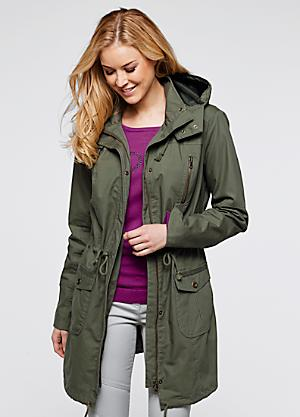 Plus Size Parka Coats   Sizes 14-32   Curvissa