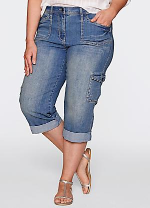 Plus Size Women's Cropped Jeans | Sizes 14-32 | Curvissa