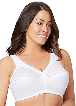 4e78e7bfe4d Plus Size Sexy Lingerie · Glamorise MagicLift Cotton Support Bra