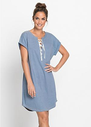 Lace-Up Chambray Nightie 9a964cbf7