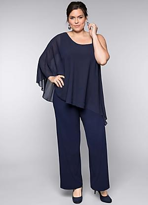 677047437c9 Layered Look Jumpsuit