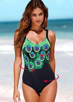 70ce33d302b2d Peacock Shaper Swimsuit