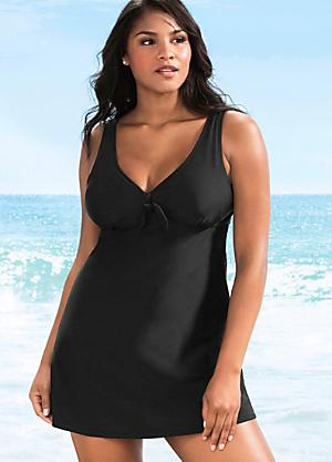 Tie Front Swim Dress edeea43f8c
