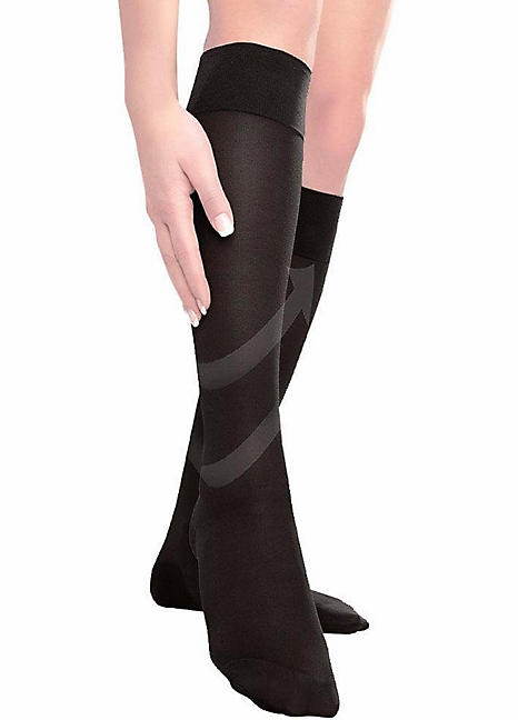 32b1a8e59ed Disée Pack of 2 Support Knee High Socks by Disee