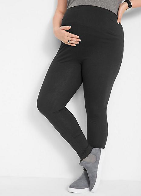 10c3f3e3fd808 Maternity Leggings by Bonprix | Curvissa