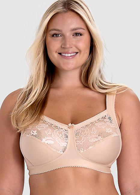 miss mary of sweden lace insert bra curvissa. Black Bedroom Furniture Sets. Home Design Ideas