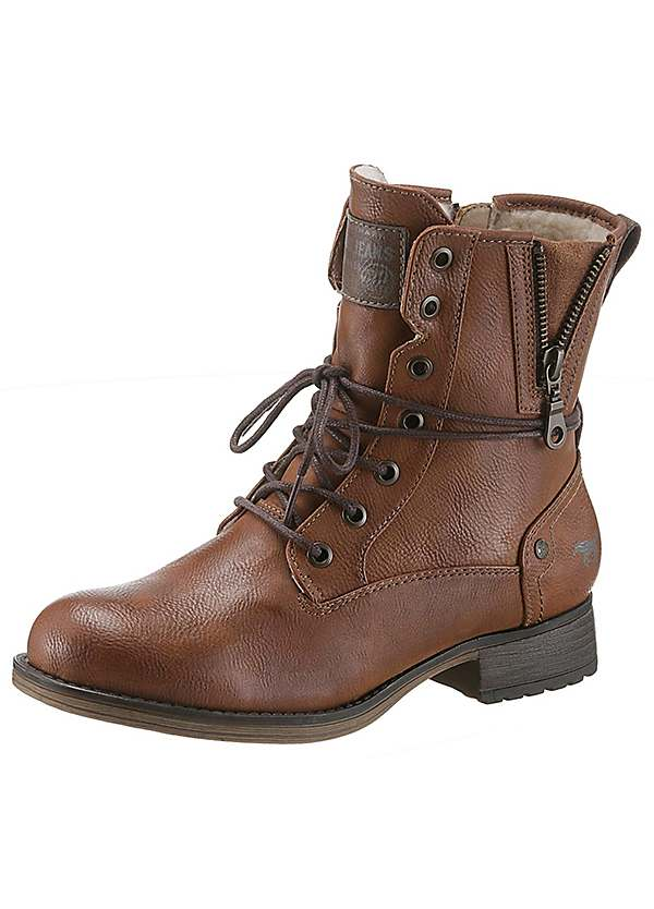 reputable site 6c52a b0beb Mustang Lined Winter Boots