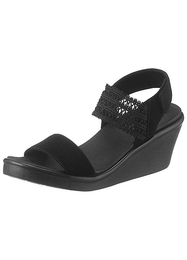 Takeover' Wedge Sandals | Curvissa